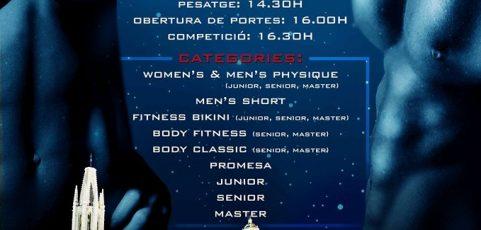 Barmatec patrocina el campeonato de culturismo Promeses de Girona.