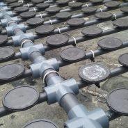 BARMATEC suministra una parrilla de difusores fija con estructura de espina de pez  en la provincia de Tarragona