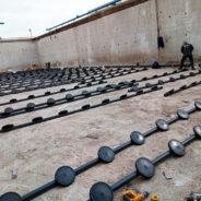 Instalación de difusores para una Edar urbana en Cádiz